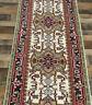 "2'7""x12' New Hand knotted Wool Geometric super Serapi Herizz Oriental rug runner"