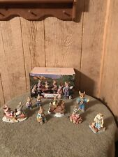 1990's Mervyns Ceramic/Resin Rabbits
