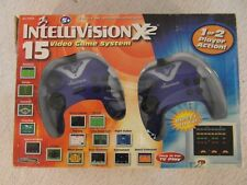 2005 Intellivision X-2 Plug & Play 15 Video Game 1/2 Player Video Game System