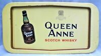 QUEEN ANNE SCOTCH WHISKY ADVERTISING VINTAGE TIN TRAY RARE AND COLLECTIBLE OLD#1