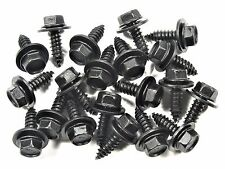 Toyota Accessory Hex Screws- M6.3mm x 20mm Long- 10mm Hex- 20 screws- #179