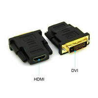 DVI-D Male (24+1 pin) to HDMI Female (19-pin) HD HDTV Monitor Display