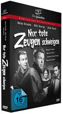 Nur tote Zeugen schweigen - mit Götz George und Heinz Drache - Filmjuwelen DVD