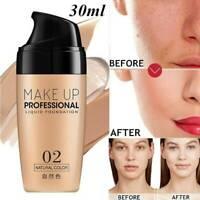 Professional Matte Liquid Skin Foundation Full Coverage Long Lasting Face Makeup