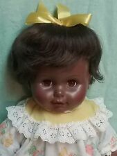 Vintage 1960s HORSMAN baby doll black African American 1967 MOMMY'S DARLING 18""