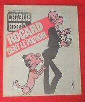 CHARLIE HEBDO n°426 - 1979.  Couverture CABU : Giscard.  Etat neuf