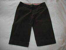 Old Navy Bermuda Dress Shorts Sz 6 Dk Brown Low Waist Womens