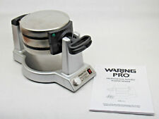 WARING PRO Professional Double Belgian Waffle Maker MODEL WMK600 NEEDS CLEANING