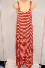 New Volcom Swimsuit Bikini Cover Up Maxi Dress Size M 12 Orange