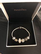 Authentic Pandora Bracelet with Pandora Charms