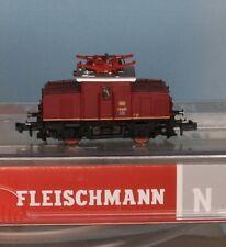 Fleischmann 737172, Traccia N, dB E-Lok 69 05, rosso, epoca Digital 3