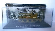 DIE CAST  TANK 155 mm GMC M12 SAINT-LO (FRANCE) 1944 SCALA  1/72