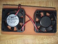 1x ADDA AD0512HB-D71 12VDC 10CFM 52MM X 52MM  BRUSHLESS DC FAN