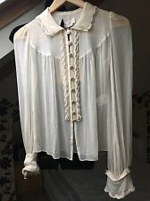 Couture Couture Los Angeles WOMEN'S TOP CREAM, PARTY, GOING OUT, EU 38, New