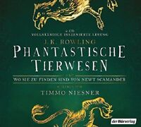 TIMMO NIESNER - PHANTASTISCHE TIERWESEN  2 CD NEW