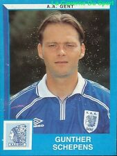 162 GUNTHER SCHEPENS BELGIQUE KAA.GENT STICKER FOOTBALL 2000 PANINI