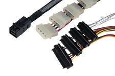 CineRAID SFF-8643 to SFF-8482 Internal HD MiniSAS to 8482 w/Power, LSI, Adaptec,