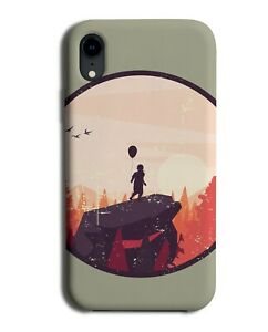 Boy On The Edge View Phone Case Cover Boys Kid Explorer Young Rock Rocks M137