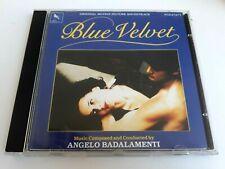 Angelo Badalamenti Blue Velvet CD Original Soundtrack 1989 Brand New
