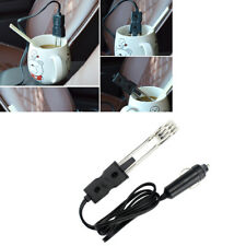 Portable Safe 12V In-Car Immersion Heater Auto Electric Tea Coffee Water Heater