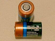 2 x bulk Duracell CR2 DLCR2 ELCR2 3V Ultra Lithium Battery EXP 03/2024
