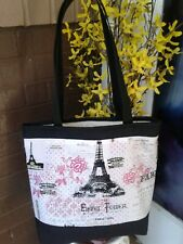 HandmadeEiffel Tower Tote Bag
