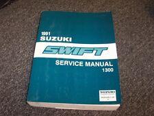 1991 Suzuki Swift Hatchback Workshop Shop Service Repair Manual GA GS GT 1.3L