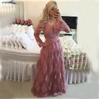 2019 A Line Elegant Long Pageant Prom Gowns Formal Evening Party Dresses Beaded