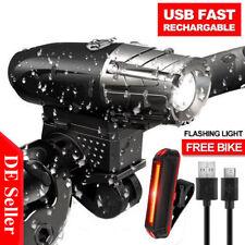 Fahrradbeleuchtung USB Fahrradlampe Fahrradbeleuchtung LED Fahrradlicht set