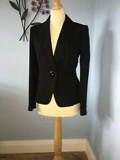 Marks & Spenser Black Blazer Jacket size 8, superb condition. Barely used!