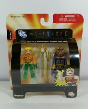 DC Universe Minimates Series 3 - Aquaman / Oceanmaster Action Figures New