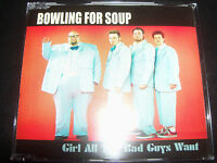 Bowling For Soup Girl All The Bad Guys want Rare Australian 4 Track CD Single