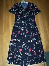 2 pc black floral long skirt set, Requirements, misses size small short sleeve
