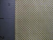 COARSE BRASS WOVEN WIRE MESH FILTER CRAFT BARGAIN - A3 Sheet (420 x 300mm)