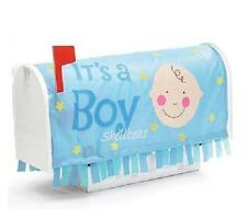 """New """"It's a Boy"""" Baby Birth Ann 00006000 ouncement Blue Mailbox Cover Banner Adorable Gift"""