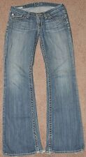 Big Star SWEET womens 27R fit 27x32 distressed jeans