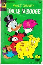 Vintage 1973 WHITMAN Uncle Scrooge #107 comic book Good condition
