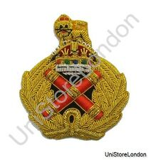 British Army Field Marshal Cap Badge Kings Crown R747