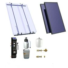 Solar Thermal 2 panel on roof hot water kit