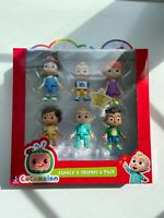 Cocomelon Family & Friends 6 Pack Figure Play Set Toy YouTube New SHIPS ASAP