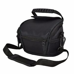 AAS Black Camera Case Bag for Canon EOS M Compact System Camera