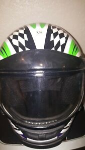 Arctic Cat Helmet Size XS Checkered Checker Board Flag