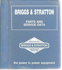 Briggs & Stratton Parts & Service Data Ms-3222~August 1, 1987~Great Reference
