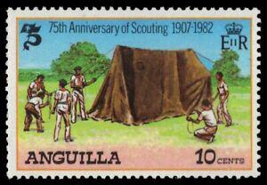 ANGUILLA 502 (SG515) - Boy Scout Movement 75th Anniversary (pa50525)