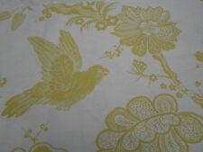 Schumacher Fabric 'Bali Vine' 3.6 METRES  Chartreuse ~ Linen Blend Fabric