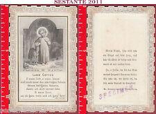 3104 SANTINO HOLY CARD GESù BAMBINO BUON PASTORE BOUASSE LEBEL PARIS LAMM GOTTES