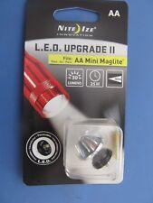 Nite Ize LED Upgrade II  Fits: AA Mini Maglite #LRB2-07  NEW