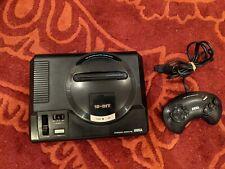 Sega Mega Drive Console (PAL VA4) and Controller - Tested and working