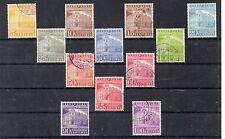 Venezuela Palacio de Comunicaciones Caracas Valores año 1858-59 (DH-837)