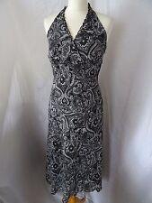 Dorothy Perkins Womens Black Sleeveless Summer Holiday Dress Size UK 12 EUR 40